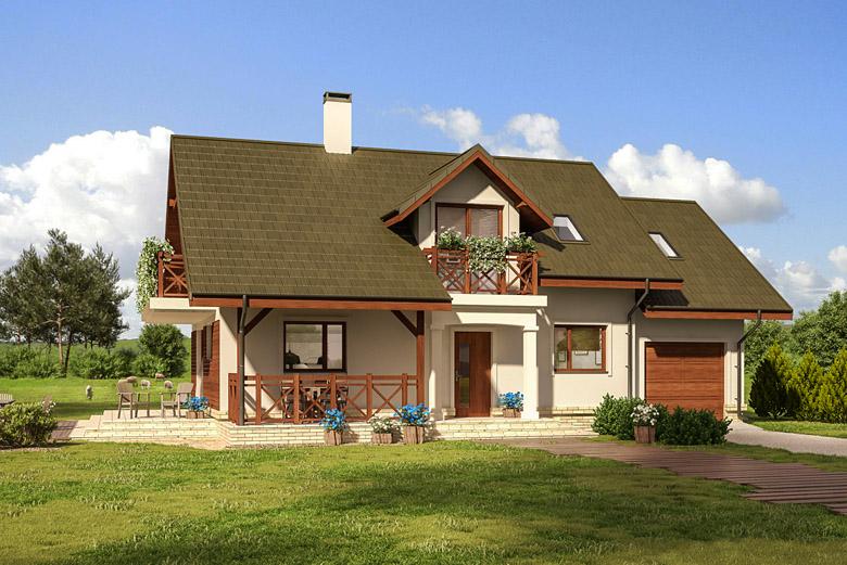 projekt domu C358