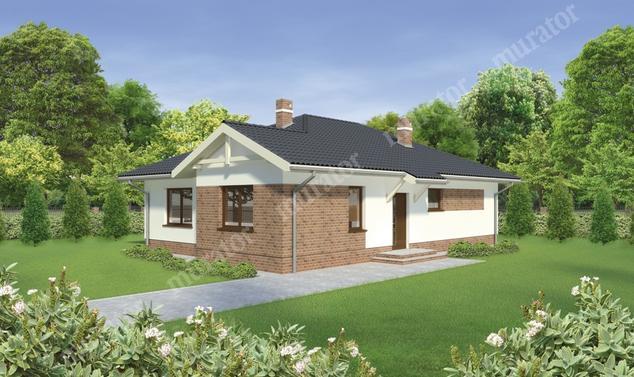 Projekt domu:  Murator C277   – Dom w pobliżu